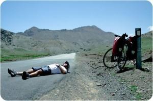 Ciclista Cansado